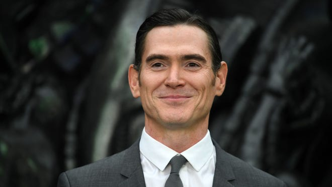 """Billy Crudup arrives for the premiere of """"Alien: Covenant"""" in London on May 4, 2017."""