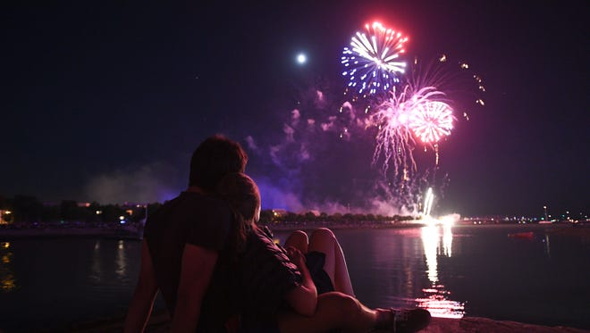 Fourth of July fireworks will light up night skies across Wisconsin.