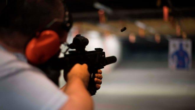 A shooting range in Lynchburg, Va.