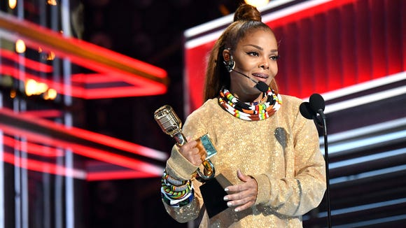 Janet Jackson, photographed at the Billboard Music