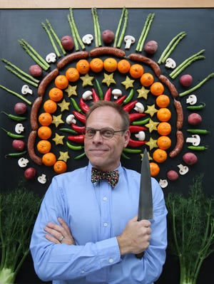 TV food personality Alton Brown will bring his wit, humor and scientific cooking techniques to Barbara B. Mann Performing Arts Hall this February
