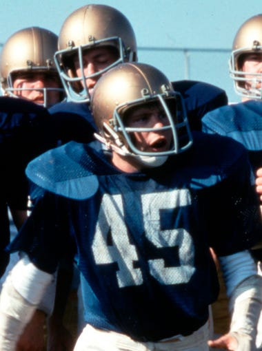 "'Rudy' | ""Rudy"" is the apotheosis of feel-good underdog sports stories, which sounds like a slam but isn't. Watching Daniel E. ""Rudy"" Ruettiger (Sean Astin) overcome the odds to achieve his dream of playing football for Notre Dame is, however saccharine an experience, a genuine joy."
