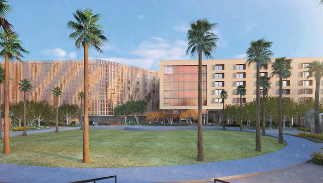 ASU says that more downtown Tempe student housing isn't necessary. A new dorm, the Ira A. Fulton School of Engineering Residential College, will open August 2017 with almost 1,600 beds.