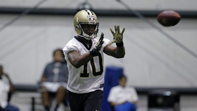 Saints WR Brandin Cooks brings an electric offensive element.