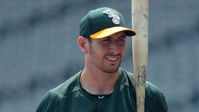 Adam Rosales is batting .191 with four homers and eight RBI in 51 games, all with Oakland in 2013.
