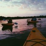 Kayak Torchlight Tours offers leisurely excursion on Pensacola waterways