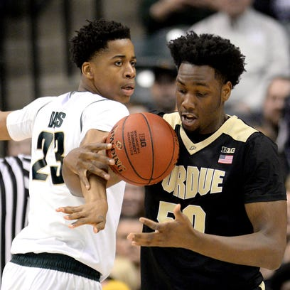 Michigan State nearly had Deyonta Davis, left, and