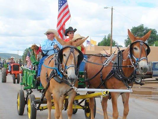 corona parade horses