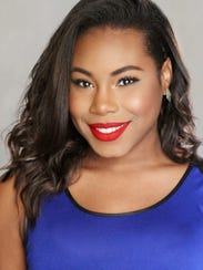 Brea Marshall, a soprano from Humble and an undergraduate