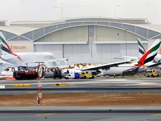 EPA UAE DUBAI PLANE CRASH DIS ACCIDENTS (GENERAL) ARE