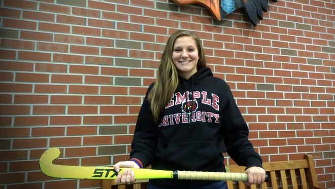 Pocomoke's Dani Batze will continue her field hockey career at Temple University.