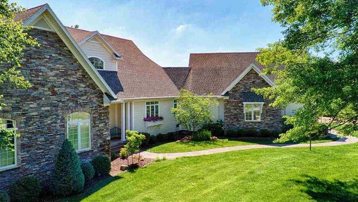 Unreal Estate: $785k Vanderburgh County home has heated floors, stocked pond