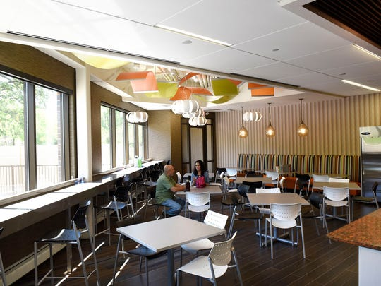 The new employee cafeteria at PCI in St. Cloud.