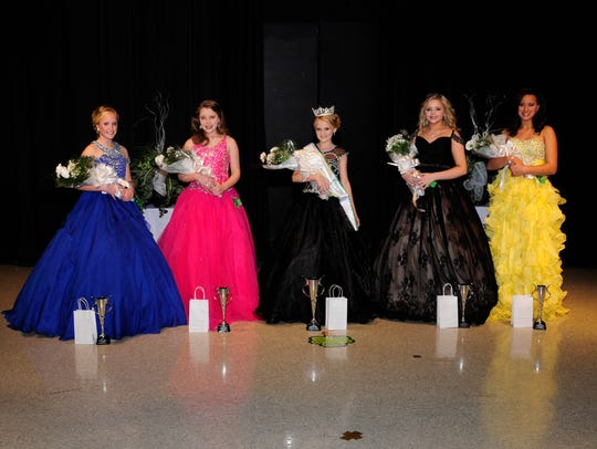 Eleven to 12-year-old group winners left to right: