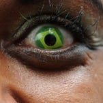 Cosmetic contact lenses pose a danger.