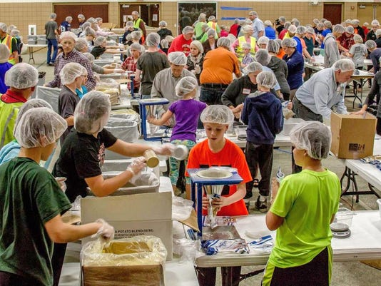 -GPG Feed My Starving Children meals packed at Green Bay Community Church ph.jpg