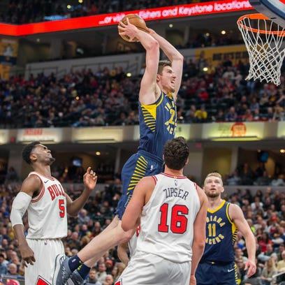 Pacers hope forward T.J. Leaf takes off in Year 2, fills major need for better shooting