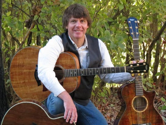 Gordon Thomas Ward performs Sunday on the Bound for
