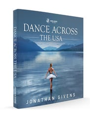 """The cover of """"Dance Across the USA,"""" by Jonathan Givens."""