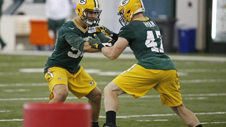 With Clay Matthews moving back to outside linebacker, more contributions from the group at inside linebacker will be needed.