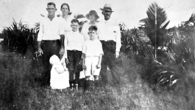 The Carlisle family in early 1900s.