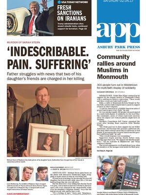 Asbury Park Press Saturday, Feb. 4, 2017