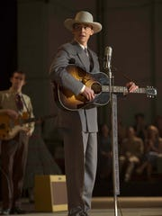 """Tom Hiddleston appears as Hank Williams in a scene from """"I Saw The Light."""""""