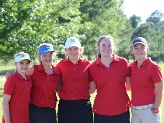 Trinity won its first girls varsity golf state championship
