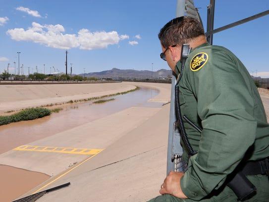 El Paso Fire Department, U.S. Border Patrol and El