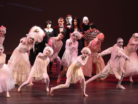 Harrison High School performs The Addams Family during