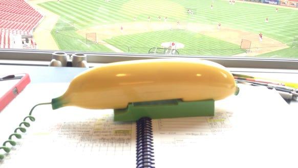 Banana phone in booth 2014