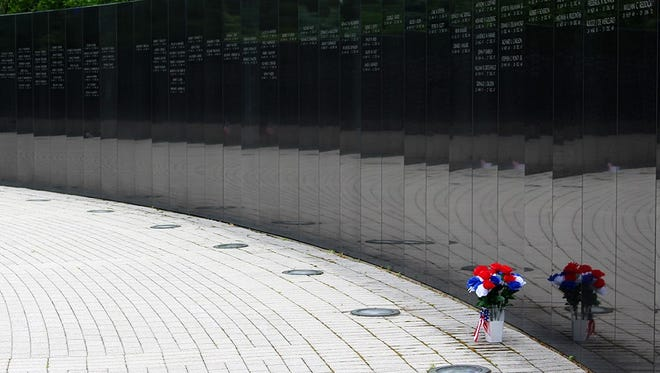 Vietnam Veterans' Memorial in Holmdel.