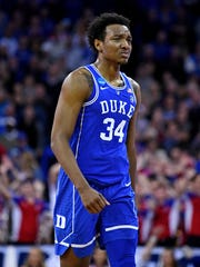 Duke Blue Devils forward Wendell Carter Jr
