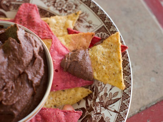 This recipe for chocolate hummus is rich, creamy and chocolatey, and it spreads easily.