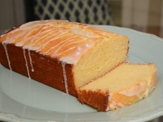Iced Lemon Poundcake replaces lemon juice and zest