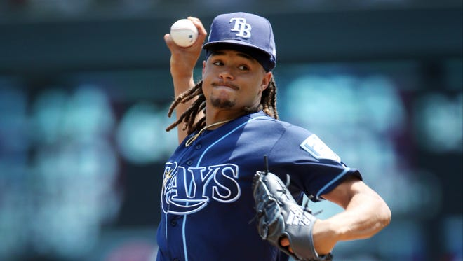 Tampa Bay traded pitcher Chris Archer to Pittsburgh before Tuesday's deadline.
