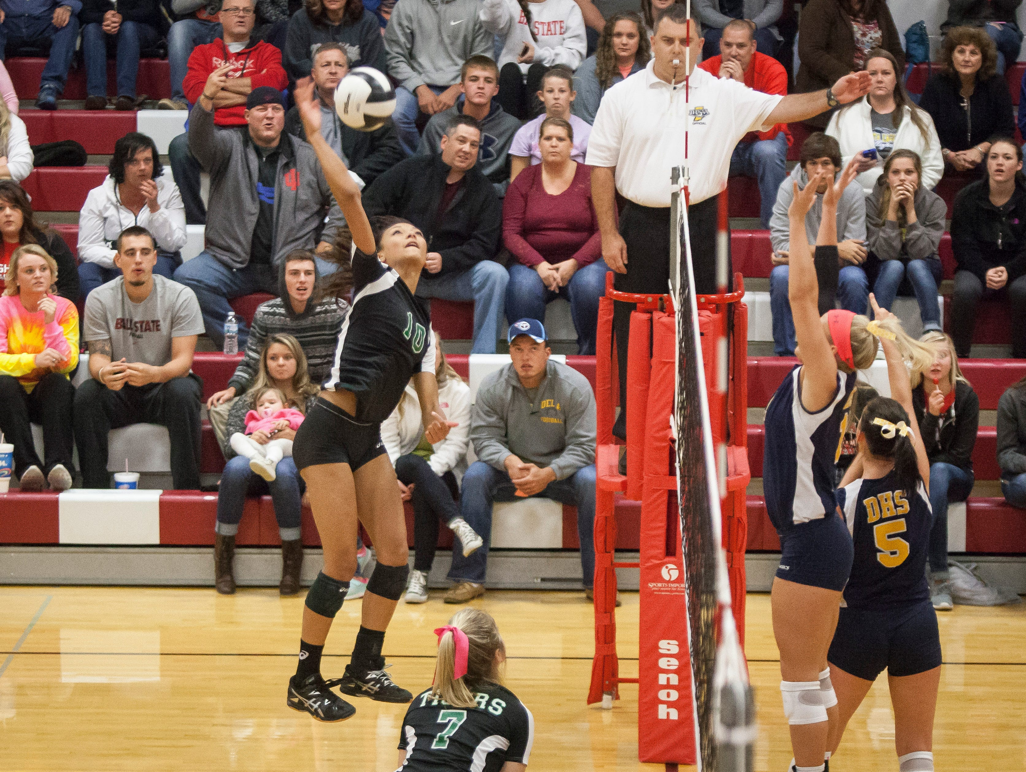 Yorktown won against Delta 3-0 for the County Title Saturday night at Wapahani High School.