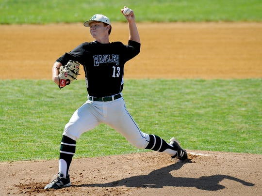 West Deptford's Drew Wilden struck out 11 and gave up just two hits in five innings of work Tuesday.