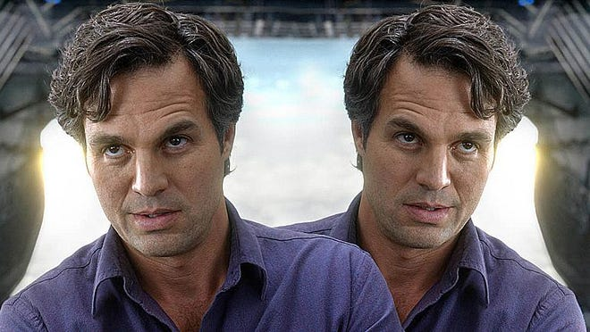 "Mark Ruffalo plays twins in the HBO limited series ""I Know This Much Is True"" (9 p.m. Sunday, HBO, TV-MA)."