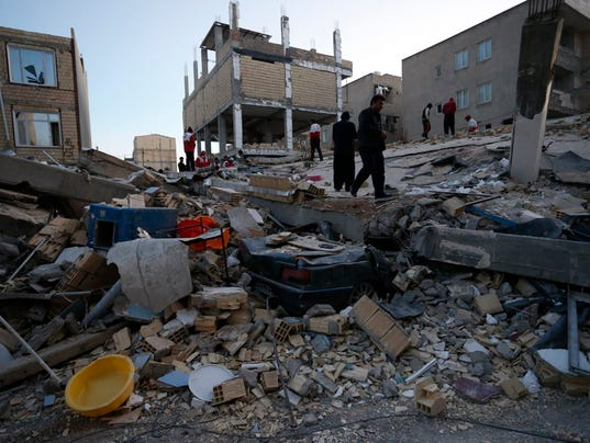IRAN-IRAQ-TURKEY-QUAKE