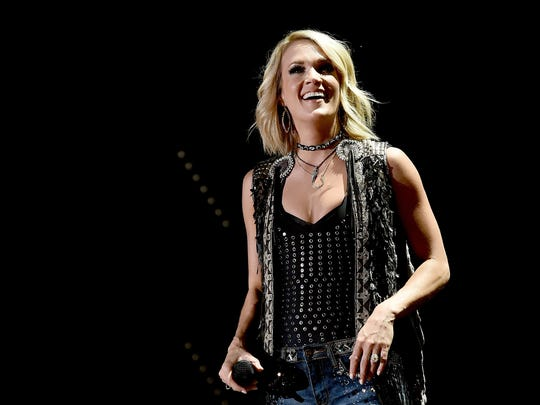 Carrie Underwood will perform on Oct. 4 at Bankers Life Fieldhouse.