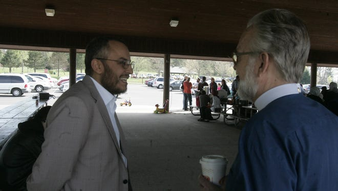 Imam Ossama Bahloul and Pastor Daniel Scott of Christ Church in Nashville discuss community and caring.