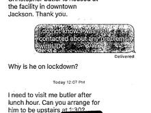 Text messages show Hinds DA's interest in inmate