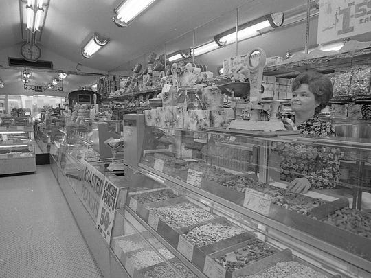 Inside the Peanut Shop, November 1972.