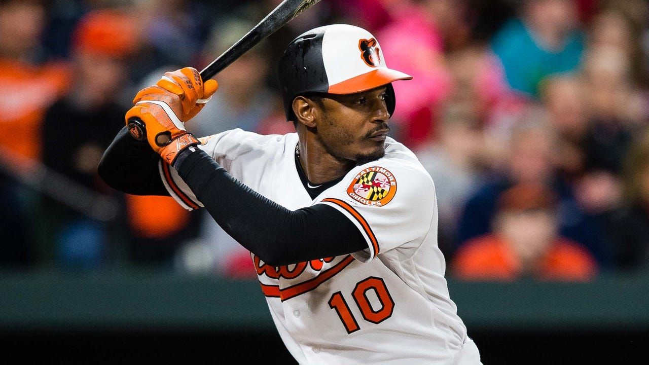 Orioles slugger Adam Jones donated $20,000 after touring the Negro Leagues Museum in Kansas City on Saturday.