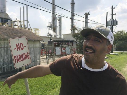 Harvey Emissions Spike