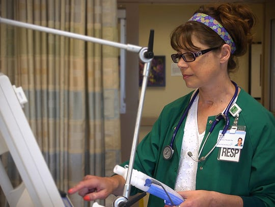 Respiratory therapists are in demand and can begin