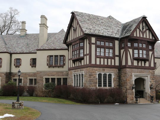 This 1920 Tudor home on Purchase Street in Purchase was once home to New York Gov. Herbert Lehman.