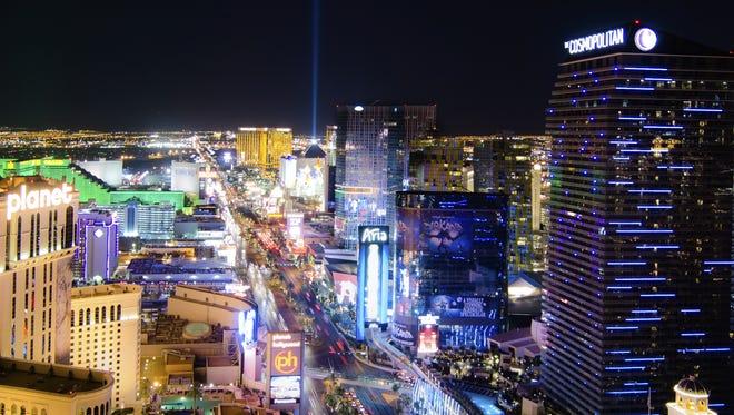 Las Vegas strip.