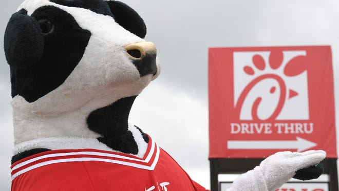 Chick-fil-A will open a stand in front of the South Hanover Lanes in West Manheim Township on May 5.
